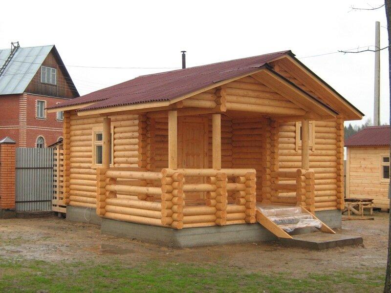 Деревянные бани фото цена