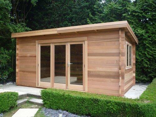 Виды деревянных хозблоков
