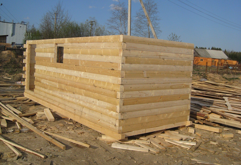 Строительство дома из профилированного