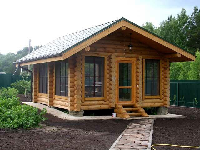 Небольшой дом своими руками фото