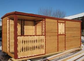 Бытовки дачные деревянные дешево фото