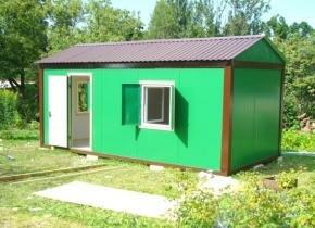 Садовые домики бытовки эконом класса