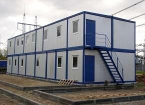 Сборные модульные здания фото